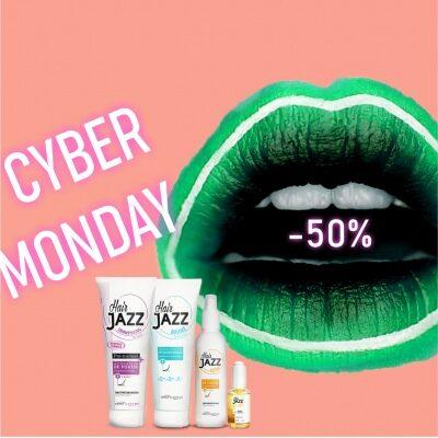 CYBER MONDAY! HAIR JAZZ šampoon + lotion + palsam + serum
