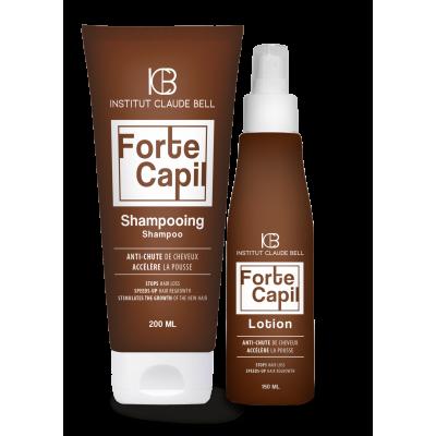 Forte Capil – baasravi (šampoon – juuste väljalangemise raviks, losjoon juuste väljalangemise vastase ravi toetamiseks)