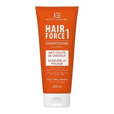 Hair Force One Šampoon. Vahend juuste väljalangemise vältimiseks.