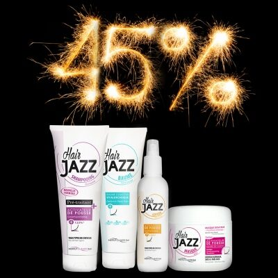 Uusaasta müük! HAIR JAZZ šampoon + lotion + palsam + mask!