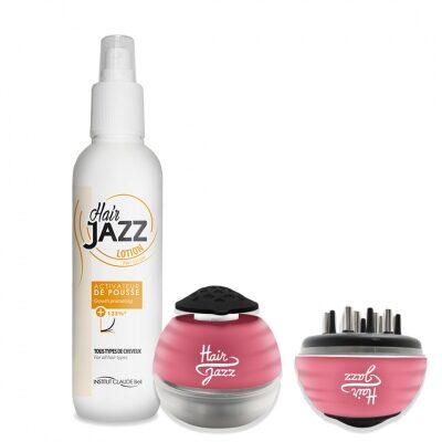 Hair Jazzi peanaha masseerija juuksekasvu kiirendavale emulsioonile + lotion