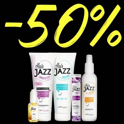 BLACK FRIDAY müük! HAIR JAZZ komplekt: šampoon + lotion + palsam + serum + juuksekasvu aktivaator!