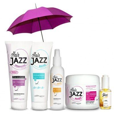 KUJUMISE MÜÜK: HAIR JAZZ Mega Set: šampoon + lotion + palsam + mask +  serum